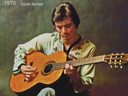 Eddie Benitez Circa 1976-77
