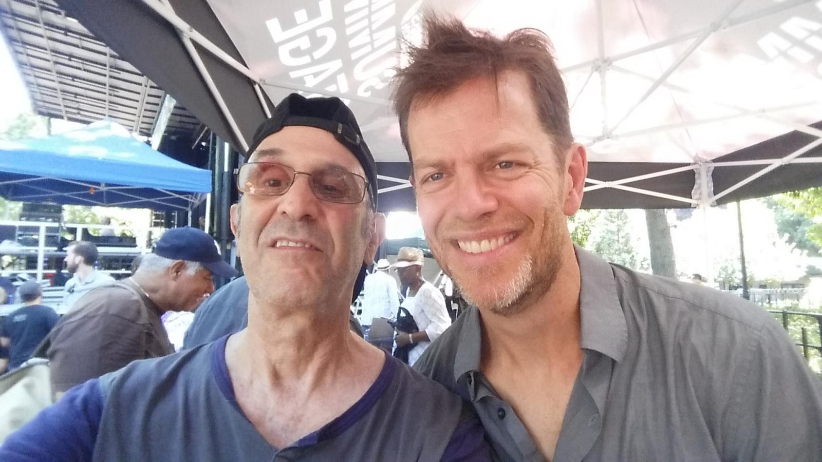 Don Shire and Donny McCaslin at the 2016 Charlie Parker Festival