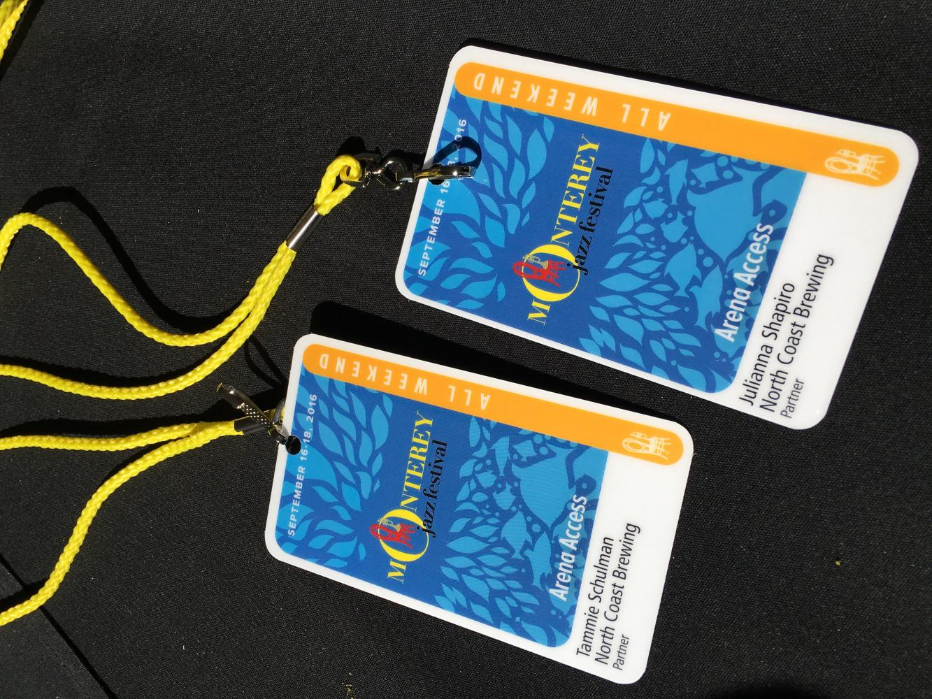 Monterey Jazz Passes