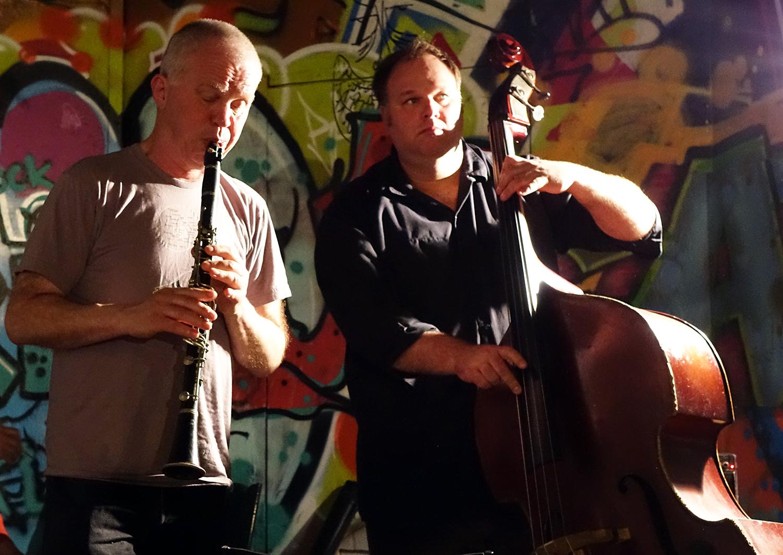Frode Gjerstad & Damon Smith at No Idea Festival 2016