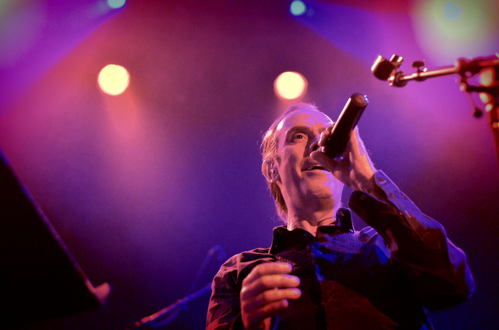 Peter Murphy at Irving Plaza in New York City