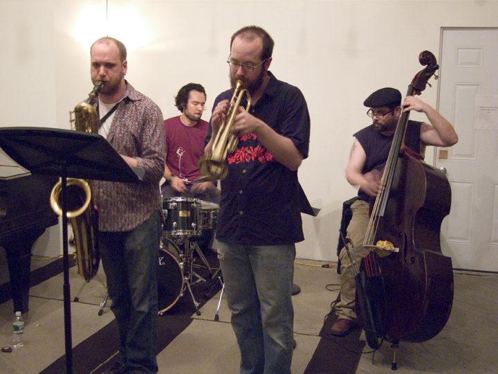 Ideal Bread (Josh Sinton, Kirk Knuffke, Reuben Radding &Amp; Tomas Fujiwara) - KMB Jazz Fest @ DSMC 2008