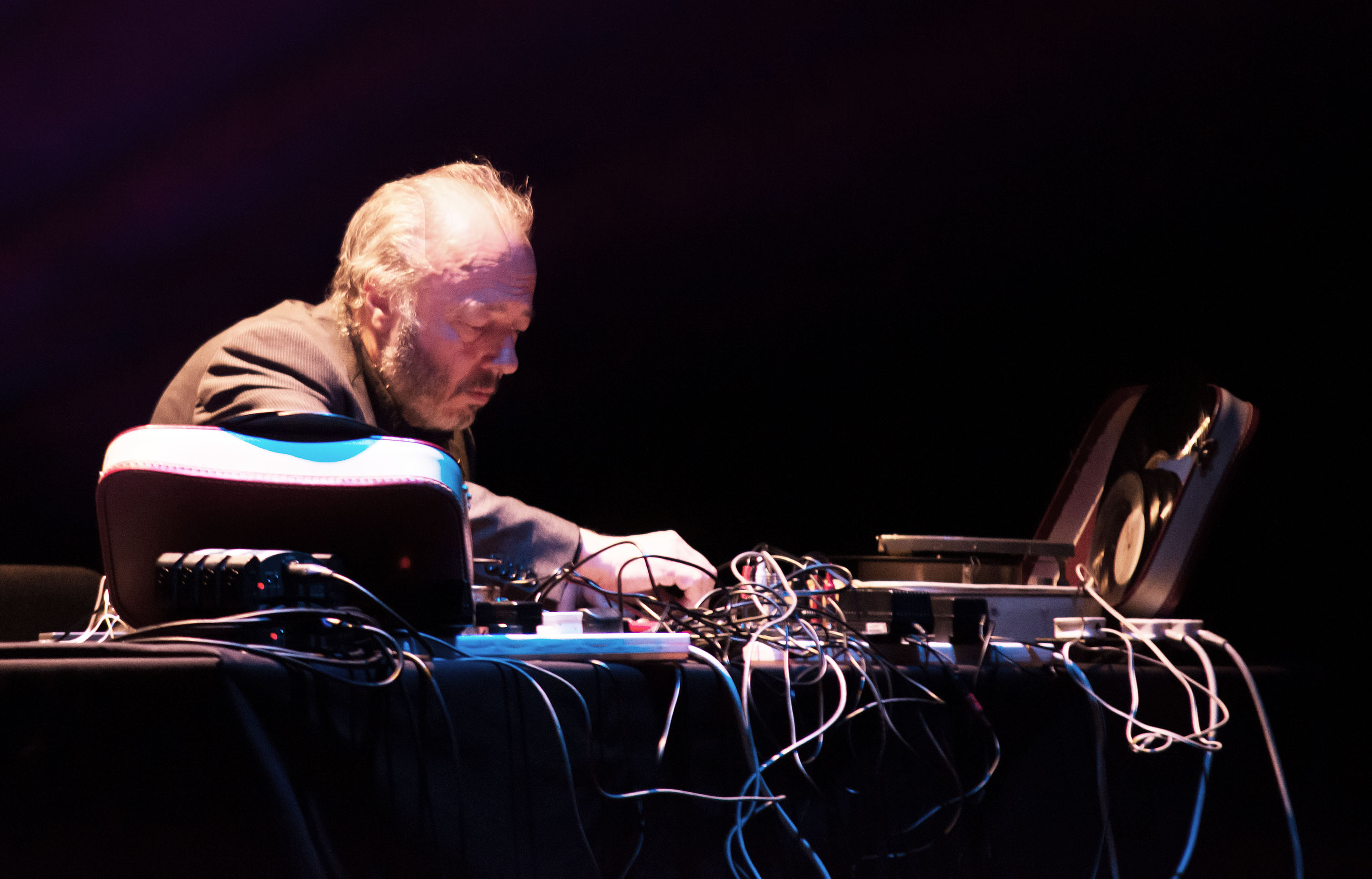 Sidsel endresen with philip jeck @ scene norway 2
