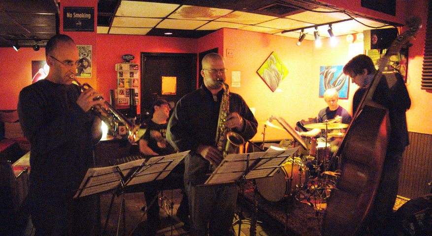 James Carney Group with Ralph Alessi, Peter Epstein, Chris Lightcap and Ted Poor - Bar 4 2005