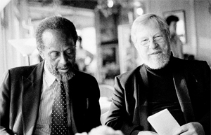 I Met the Two Bass Players Red Mitchel and Percy Heath in the Cafeteria During a TV Program, 1988. We Talked About Jazz in Sovie