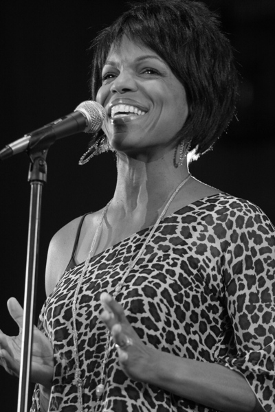 Nnenna Freelon Performing Friday Night at the Chicago Jazz Festival; Chicago 2006