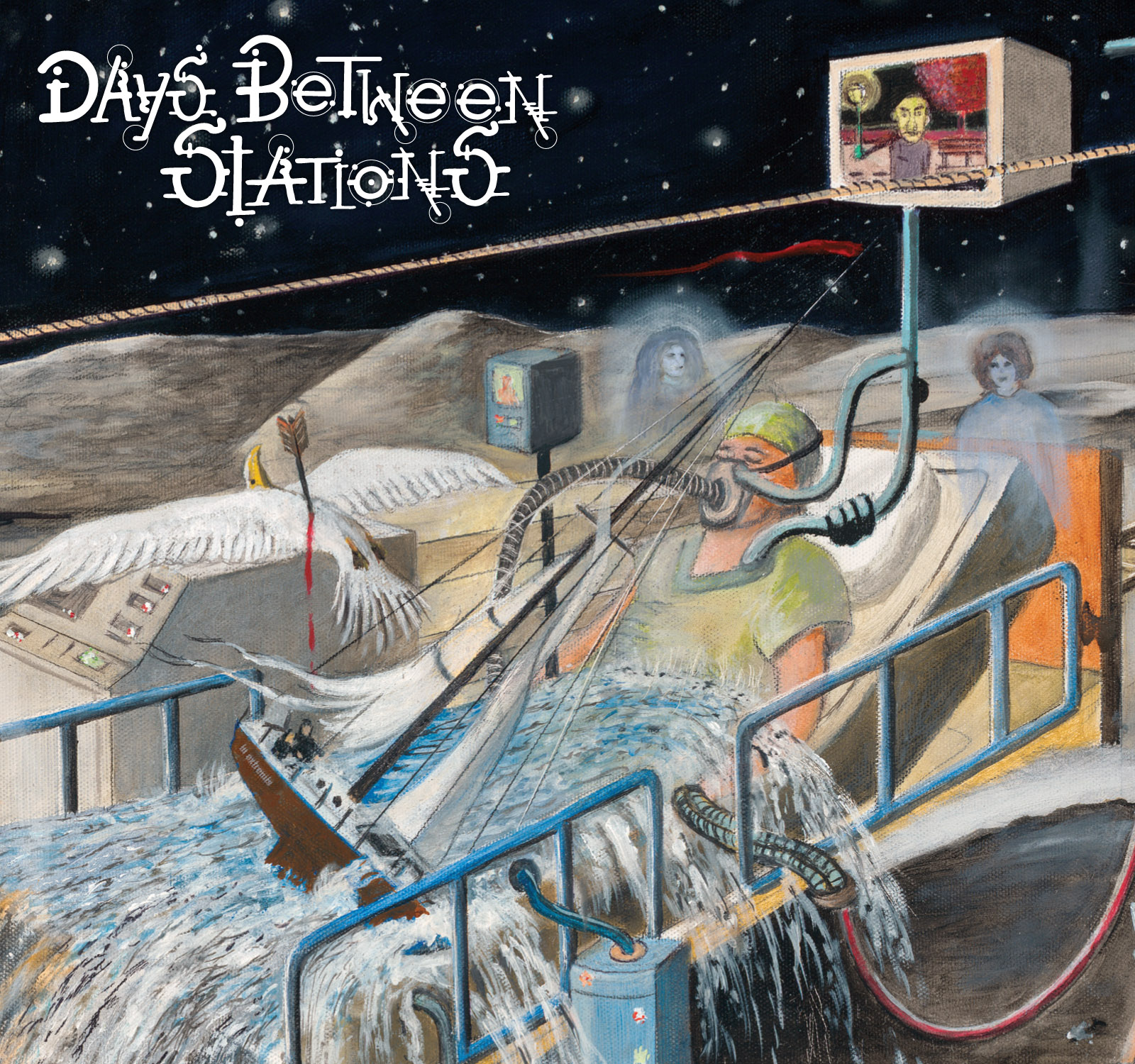 Days between stations