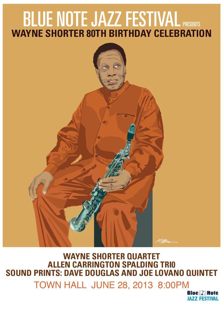 Wayne Shorter Town Hall Concert Poster