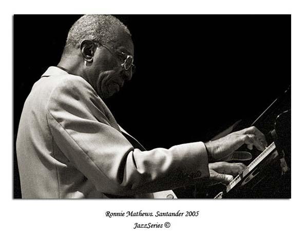 Ronnie Mathews. Santander-2005