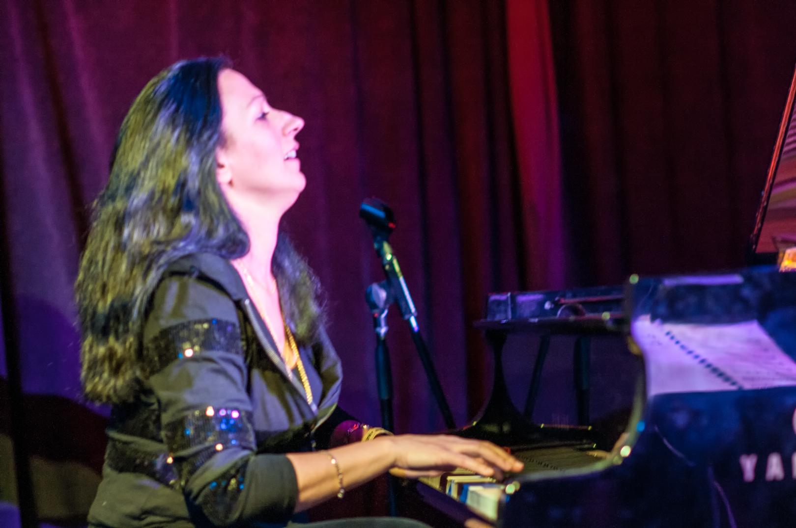Amina Figarova at le Poisson Rouge at Winter Jazzfest 2013