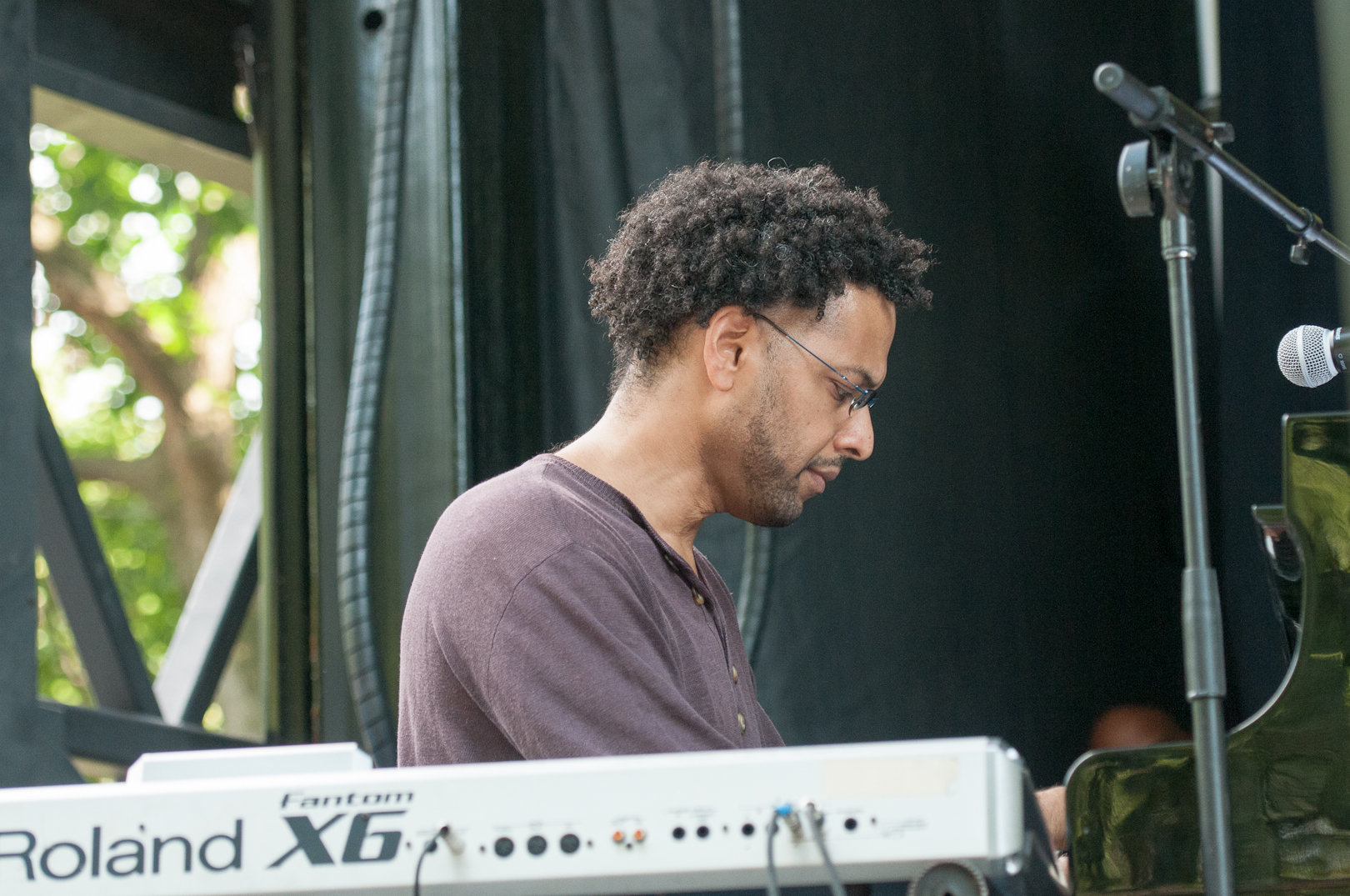 Andy Milne and Dapp Theory at the Charlie Parker Jazz Festival 2012