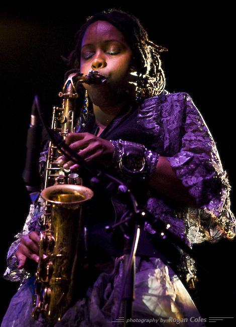 Matana Roberts - 2007 London Jazz Festival.