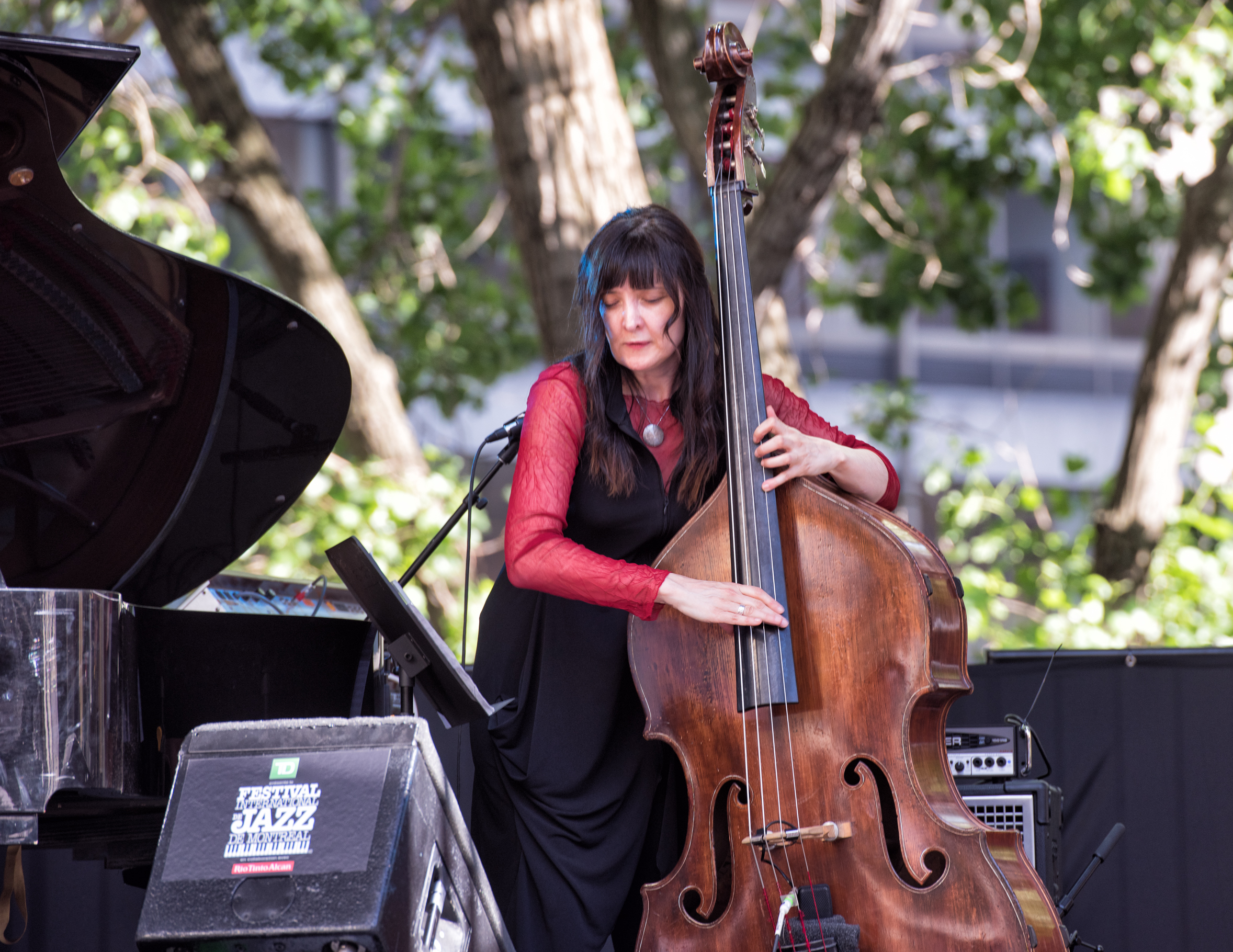 Giulia Valle at the Montreal International Jazz Festival 2015
