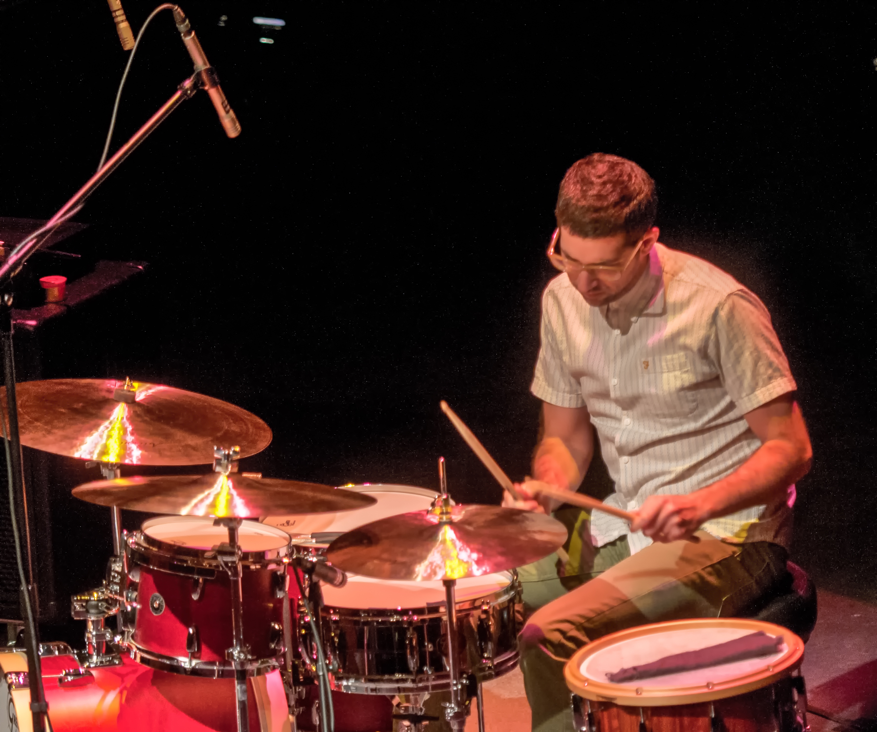 Mark guiliana with the gretchen parlato quartet at the tempe center for the arts