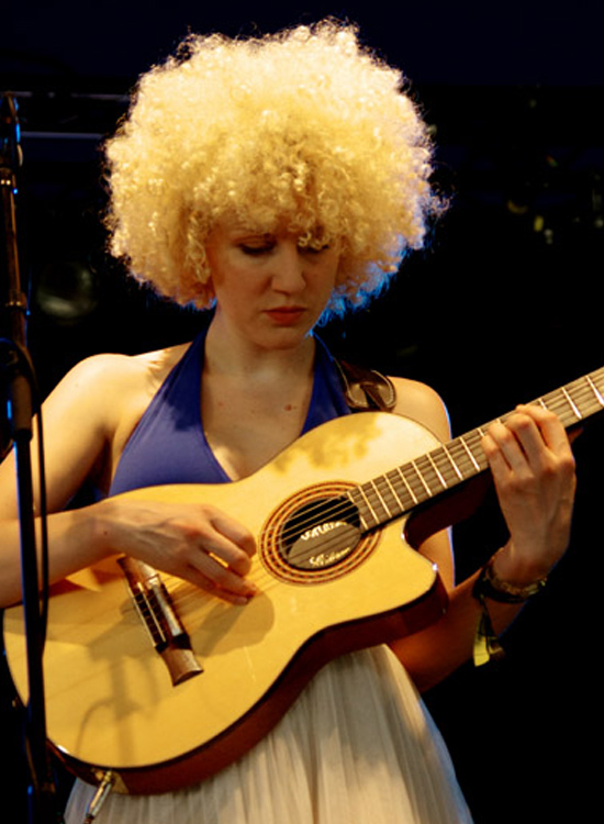 Fiona bevan, gwyneth herbert group, love supreme jazz festival