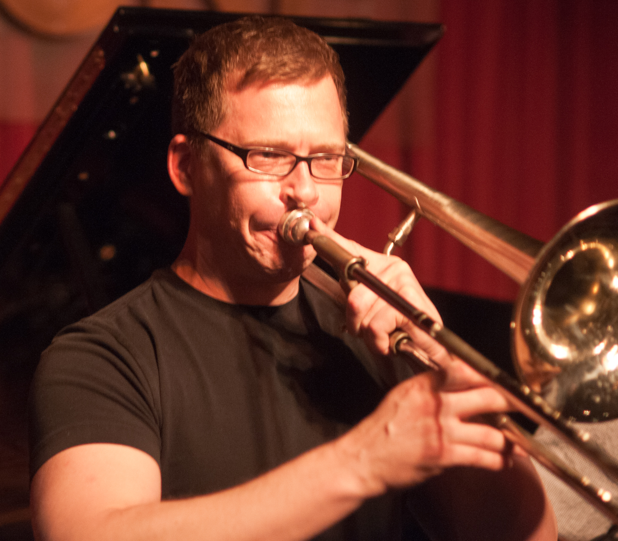 David Gibson with Nickle and Dime Ops at Smoke Jazz Club