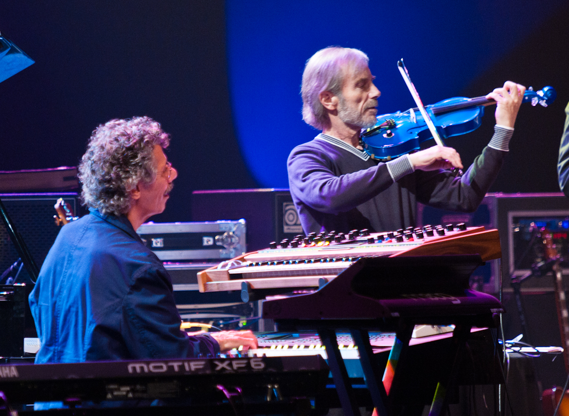 Chick Corea and Jean-Luc Ponty with Return to Forever at the Montreal Jazz Festival 2011