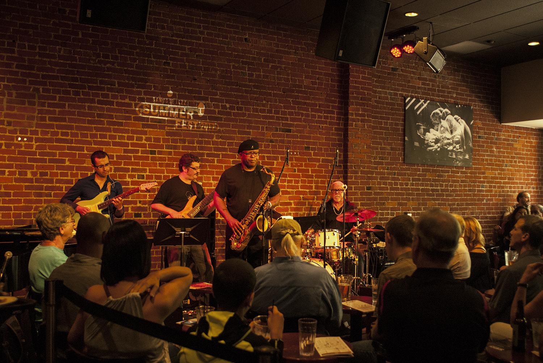 Wally Schnalle Quartet at San Jose Jazz Summer Fest 2017
