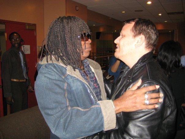 Milton Nascimento and Brian Camelio