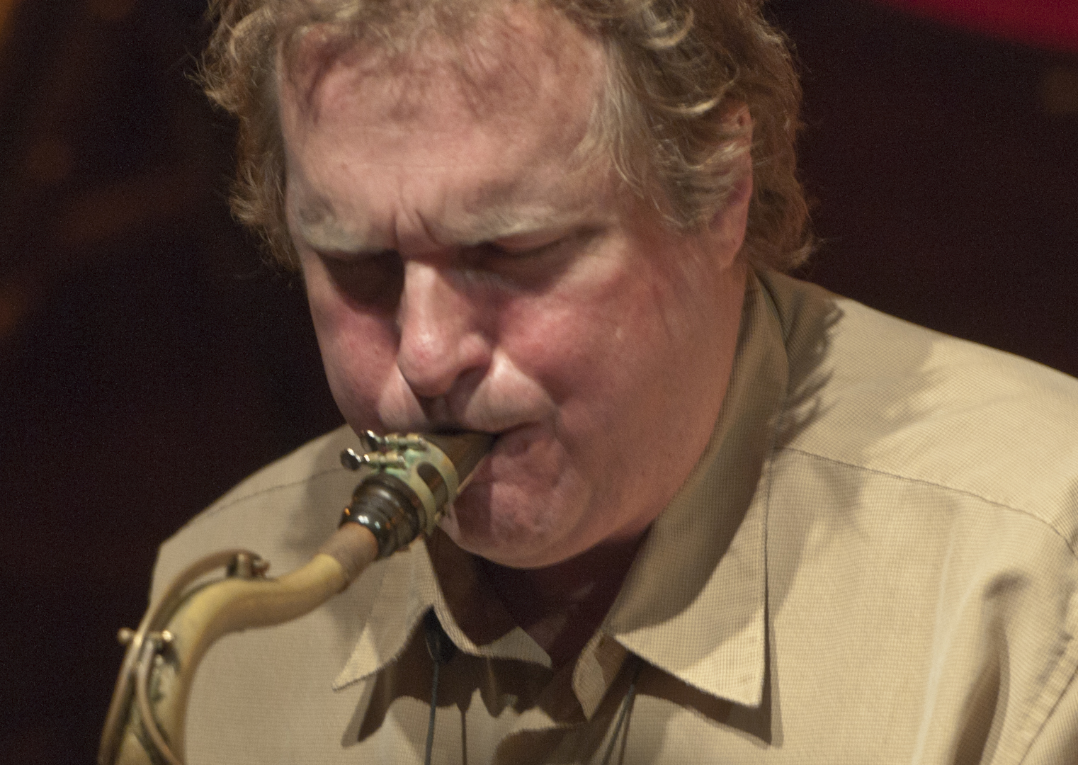 Rich Perry with the Maria Schneider Orchestra at the Jazz Standard