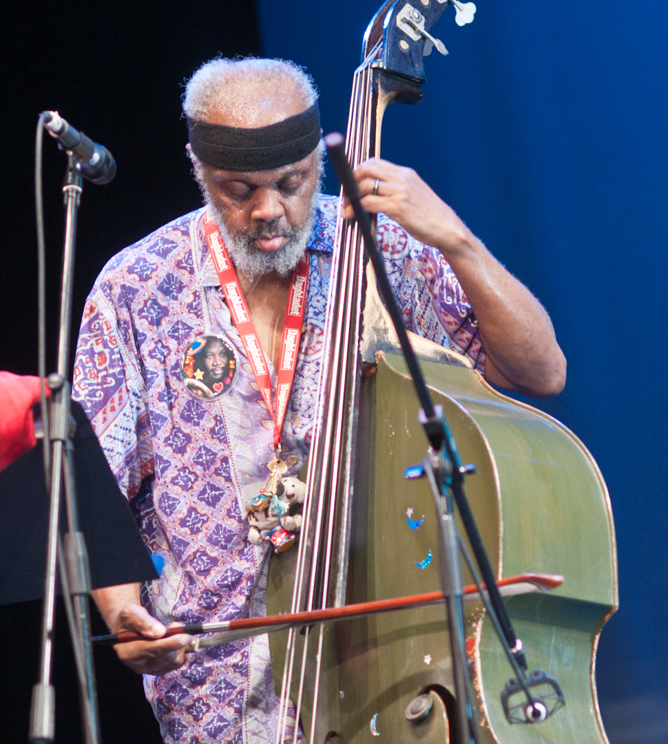 Henry Grimes in Duo with Marc Ribot at the Vision Festival 2011