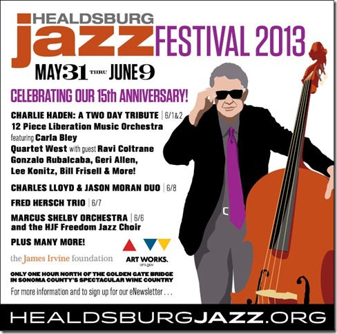 15th annual healdsburg jazz festival