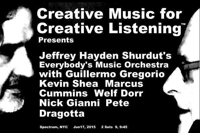 Jeffrey Hayden Shurdut's Creative Music for Creative Listening