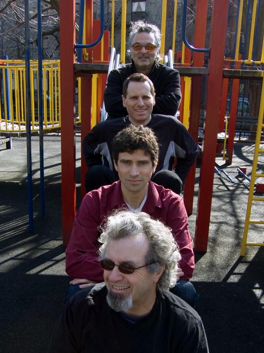Michael Bisio Quartet w/ Jay Rosen, Stephen Gauci and Avram Fefer - Thompkins Square Park 2008
