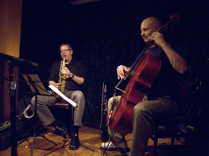 Marty Ehrlich and Erik Friedlander - Jimmy's 43 2007