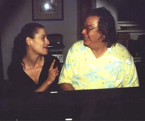 Ithamara Koorax with Antonio Carlos Jobim