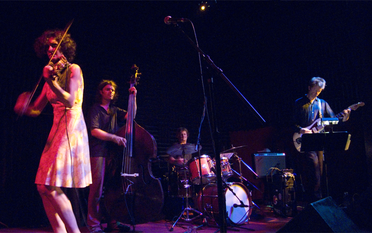 Jenny Scheinman &Quot;Mischief and Mayhem&Quot; Band with Nels Cline, Todd Sickafoose and Jim Black - Joe's Pub 2007