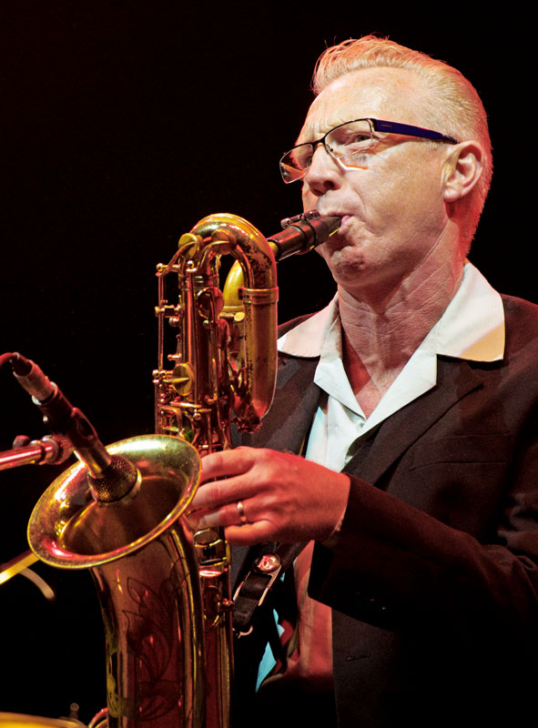 Nick lunt, love supreme jazz festival