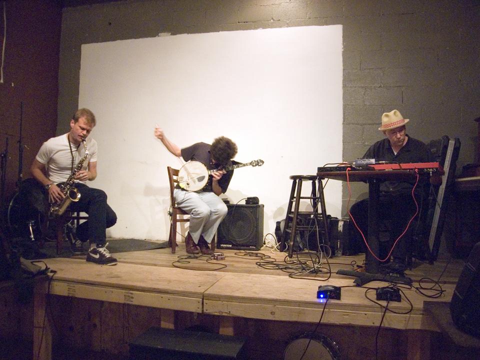 Briggan Krauss, Wayne Horvitz and Brandon Seabrook - Spike Hill 2007