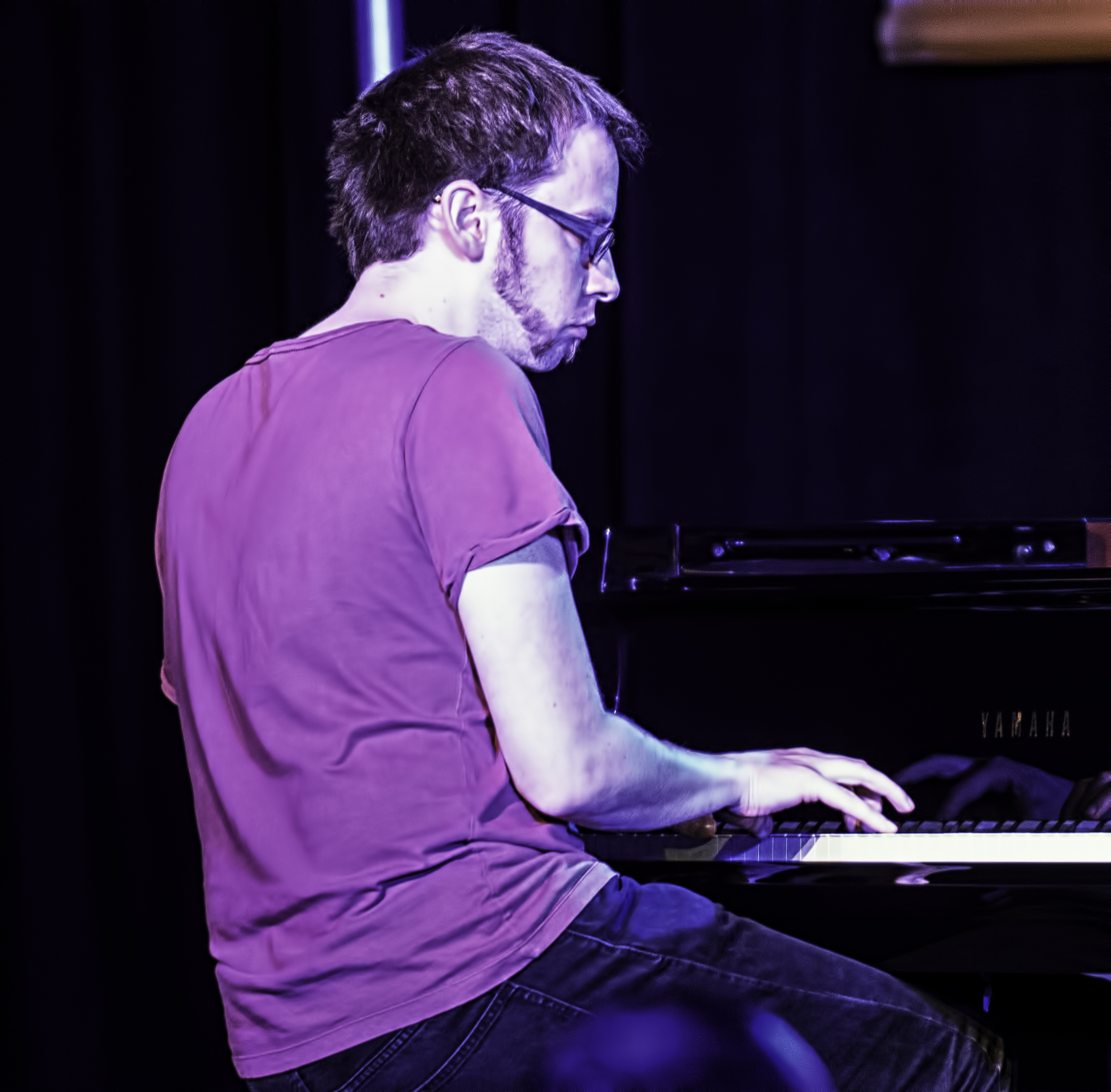 Chris Illingworth with GoGo Penguin at the Monterey Jazz Festival