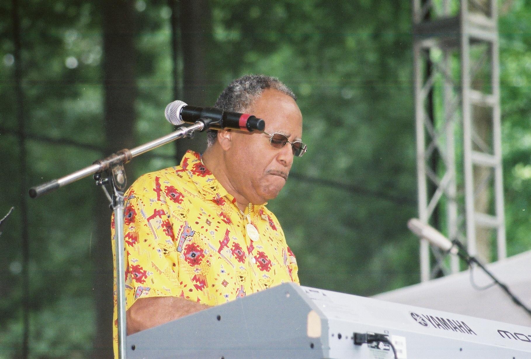 Lonnie Liston Smith 2006 Capital Jazzfest