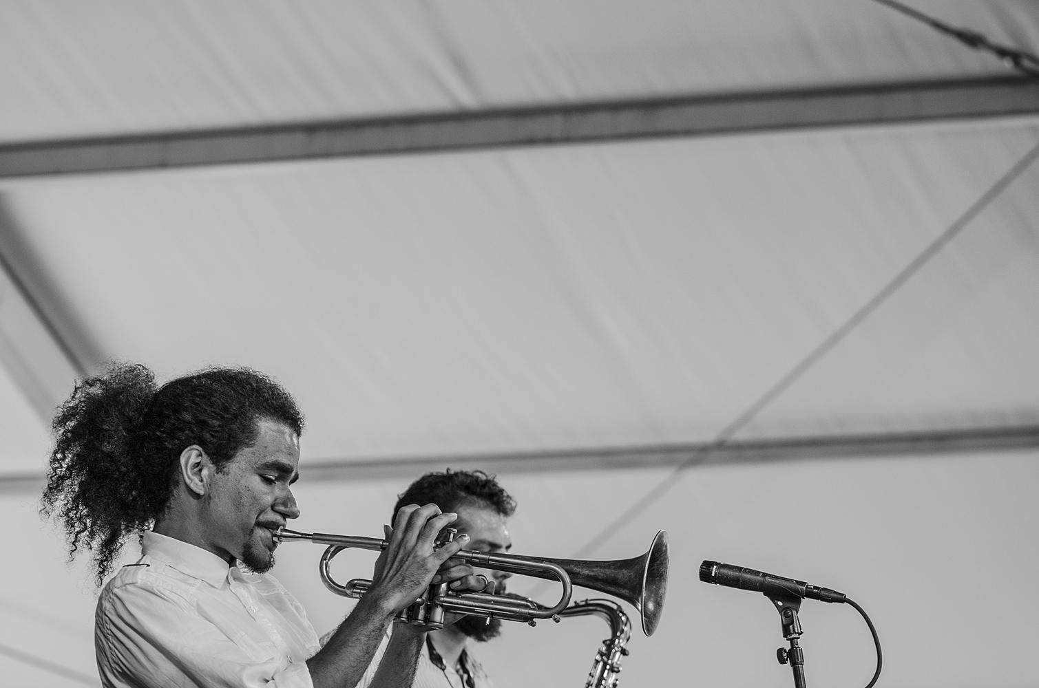 Ashlin Parker at Jazz Fest