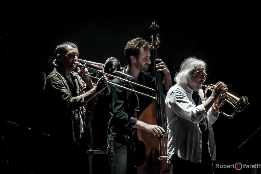 Gianluca Petrella Enrico Rava  Time in jazz 2018