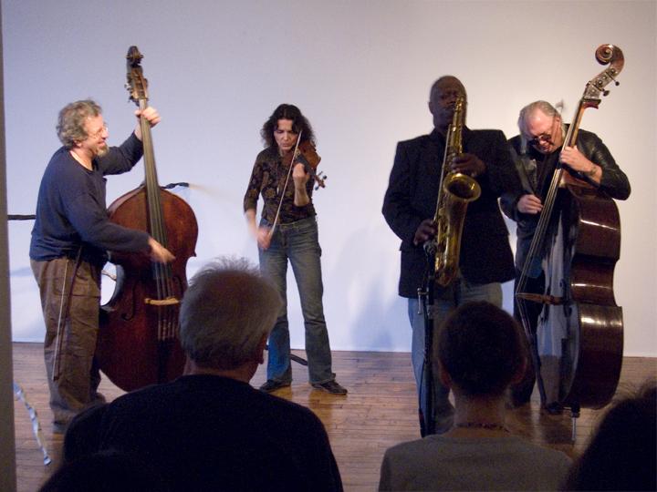 Joe McPhee (w/Dominic Duval, Michael Bisio &Amp; Rosie Hertliner) - Alain Kirili &Amp; Ariane Lopez-Huici Loft 2008