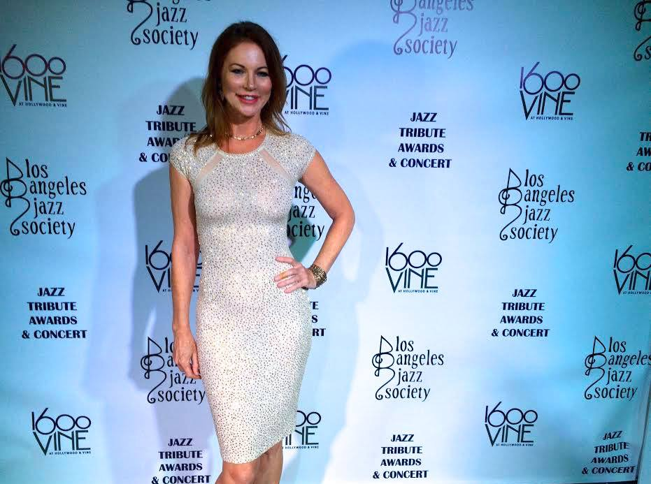 Cynthia Basinet Attends La Jazz Society 2016 Tribute Awards Honoring Quincy Jones