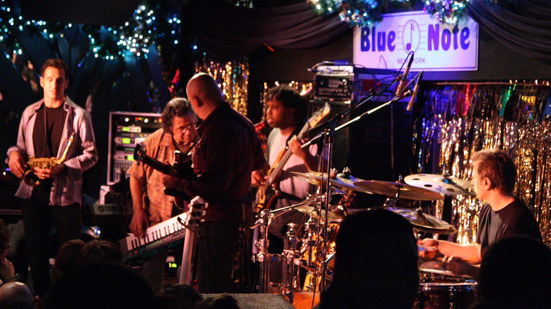 The Chick Corea Elektric Band Playing at the Blue Note in New York City