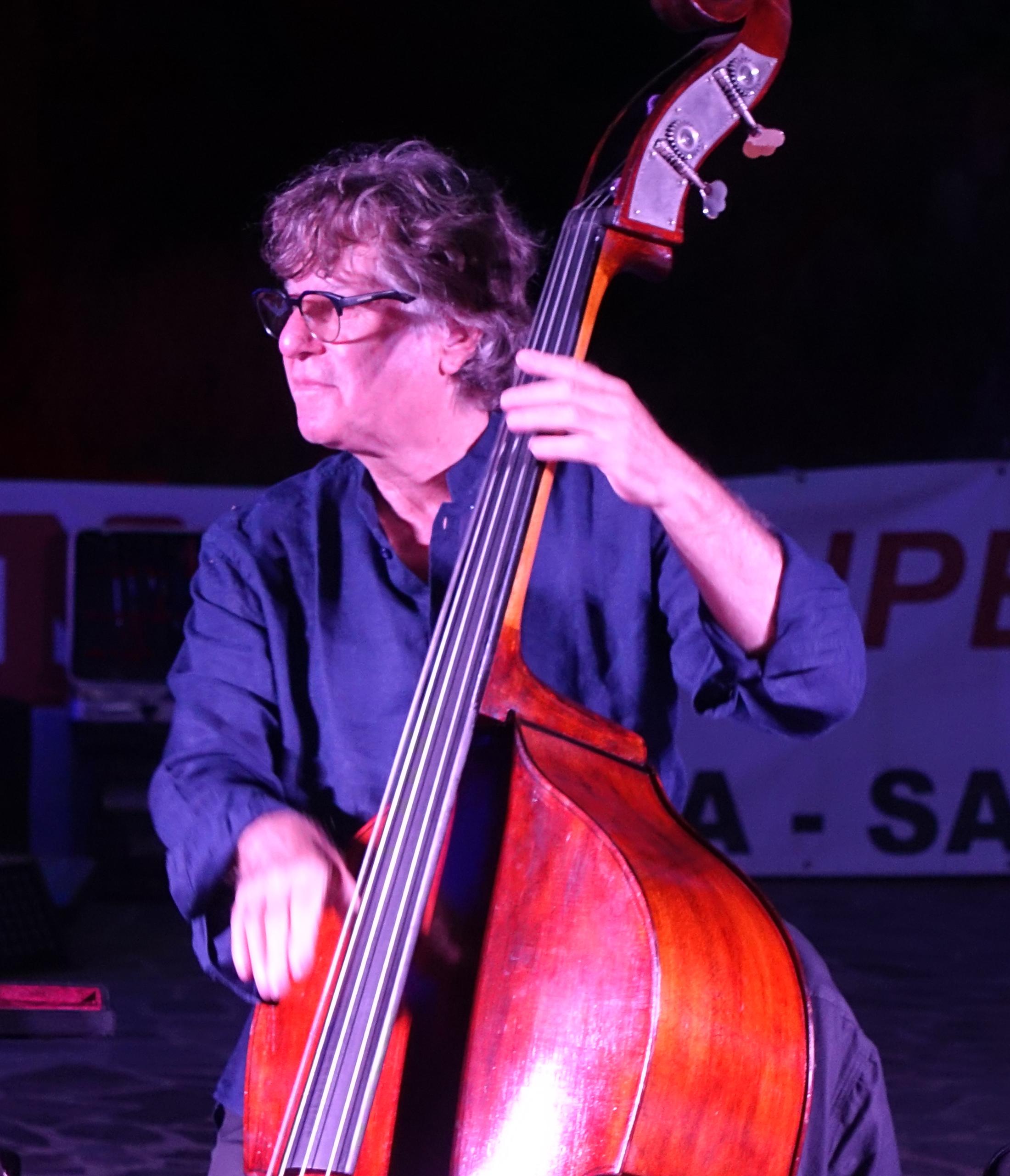 Paolo Damiani in Sant' Anna Arresi Sardinia 2018