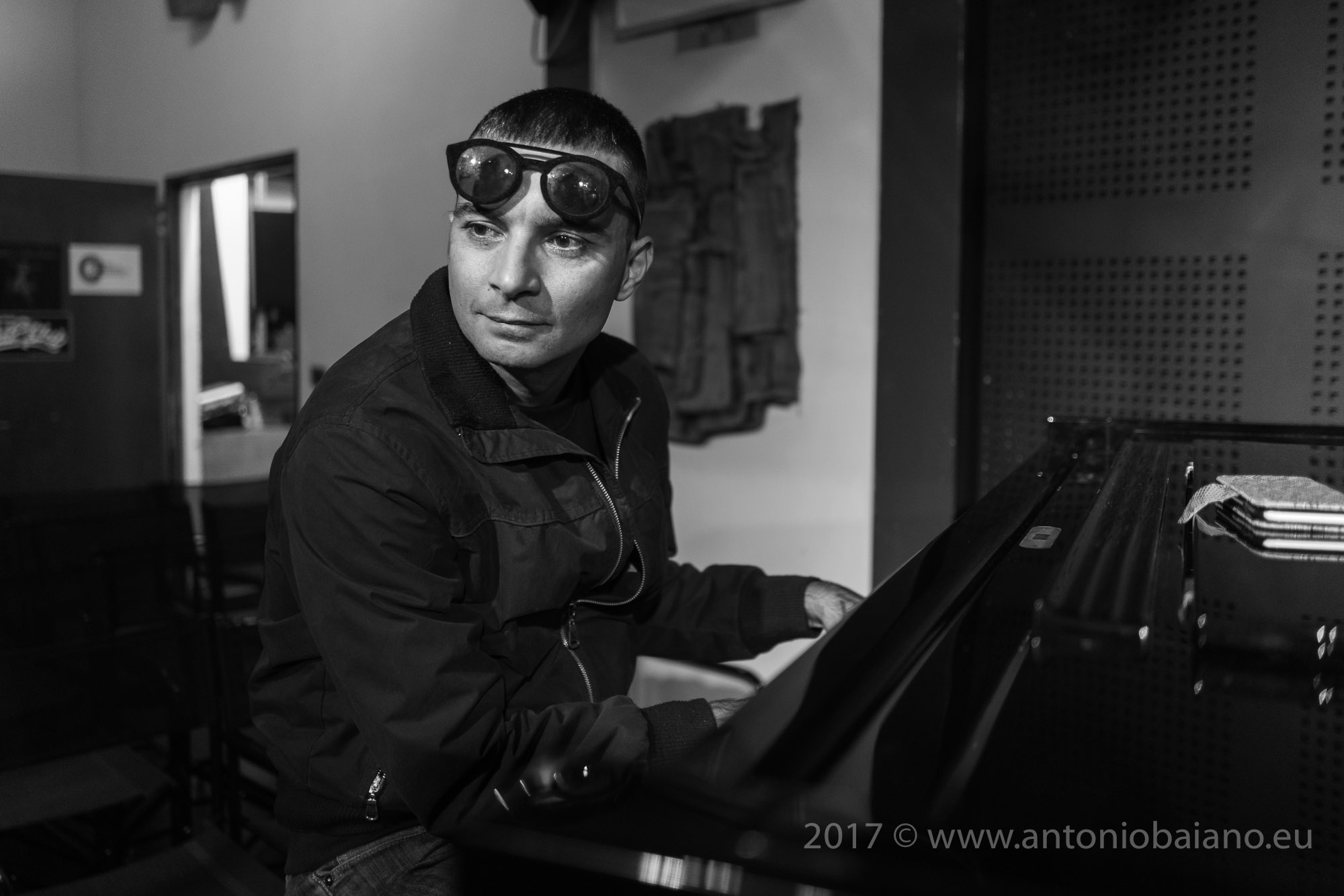 Gianluca Petrella, sound check - Rava Tribe