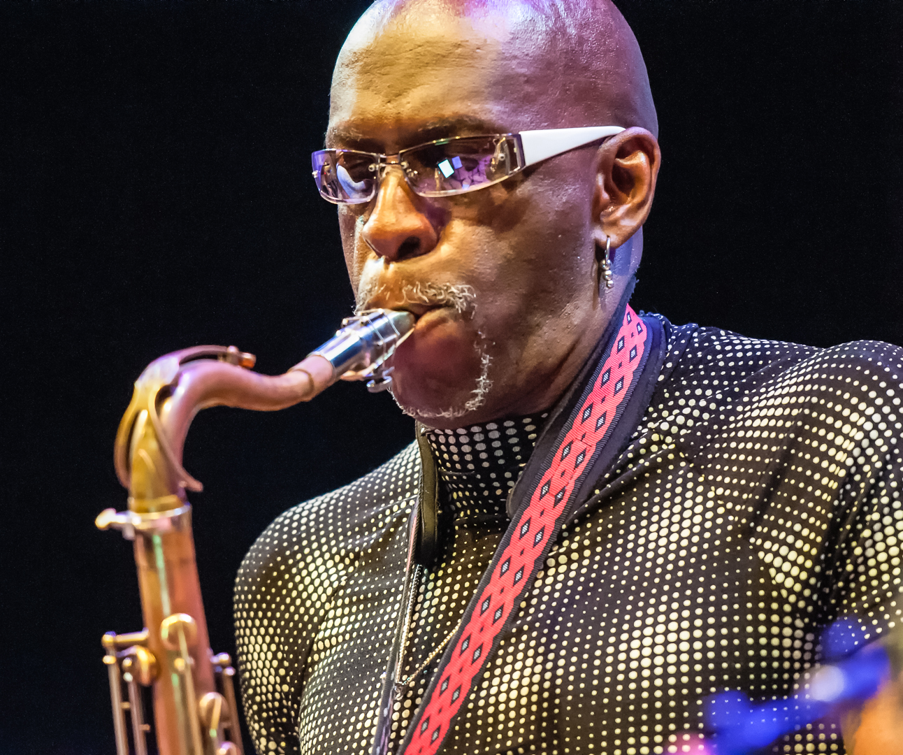 V.jeffrey Smith With Burnt Sugar At The Vision Festival 2012