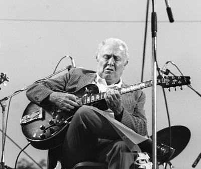 Herb Ellis 0318005 Capital Jazz, Knebworth, UK. July 1982 Images of Jazz