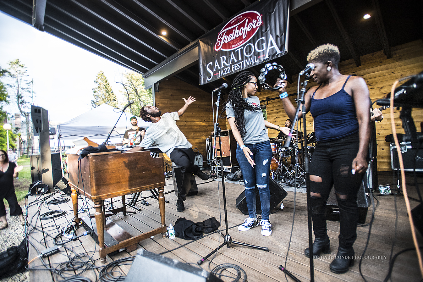 Cory Henry and the Funk Apostles at the Freihofer Saratoga Jazz Festival 2017