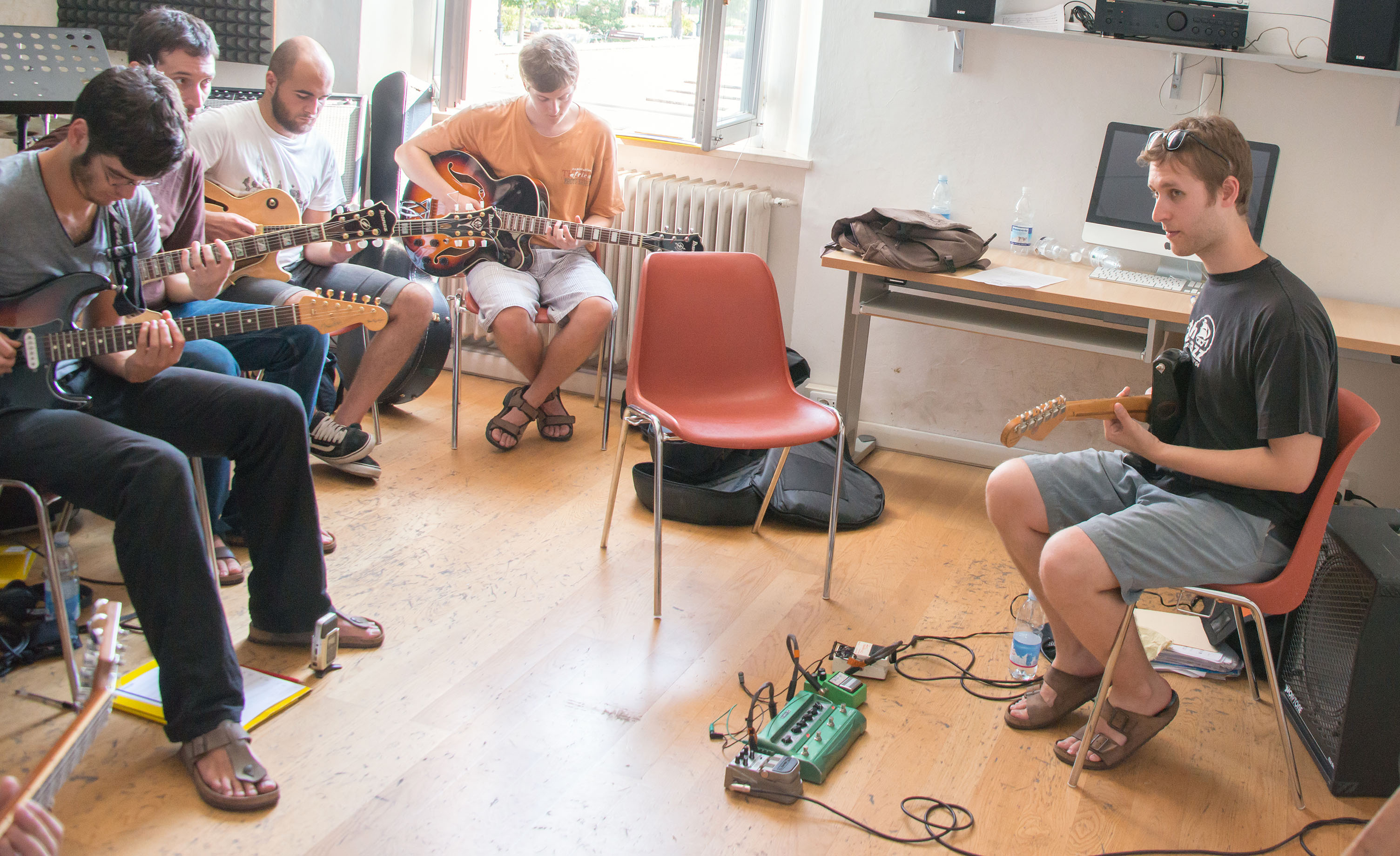 Nir felder guitar class, 2013 siena jazz academy summer workshop
