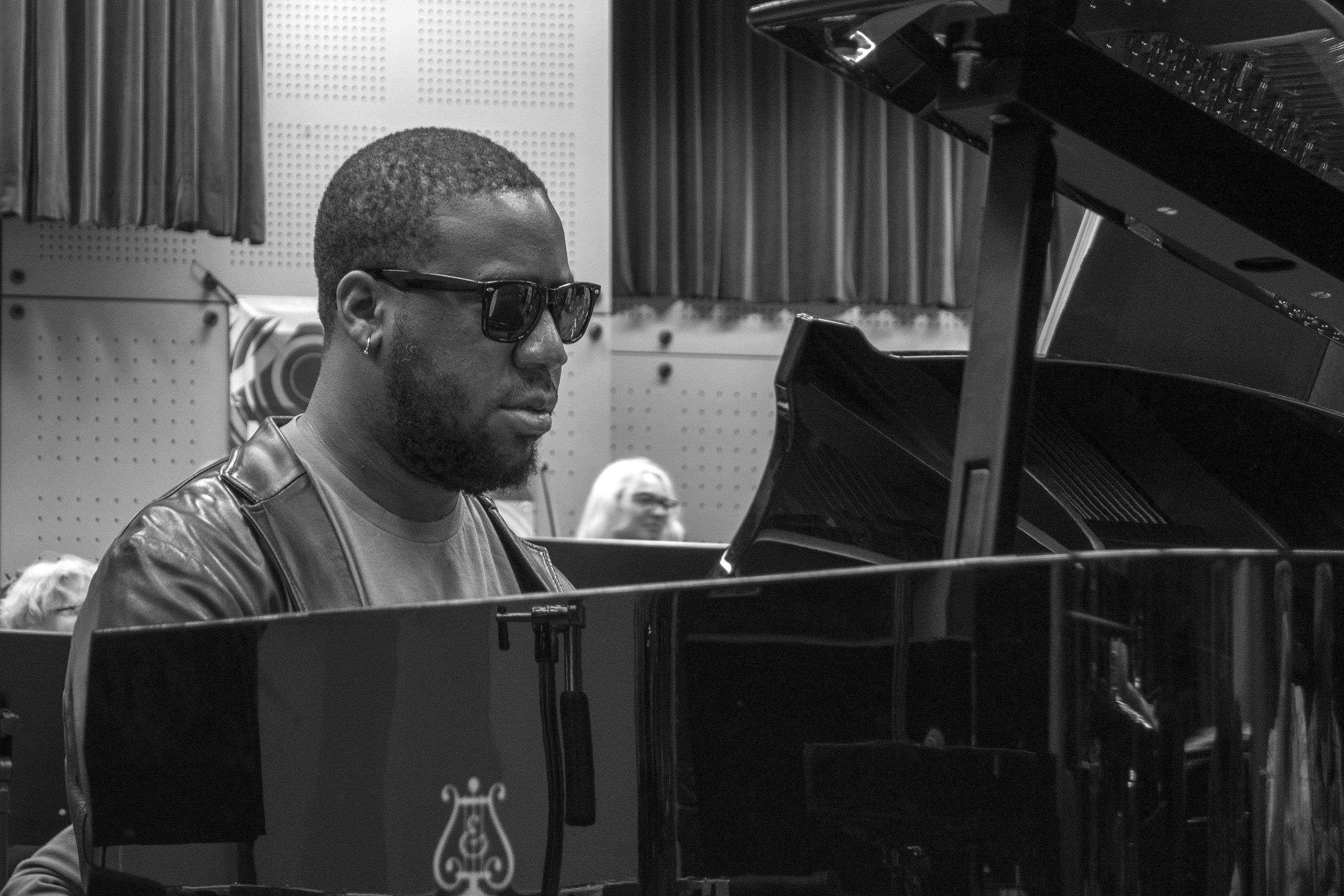 Robert Glasper Rehearsing with the Metropole Orchestra