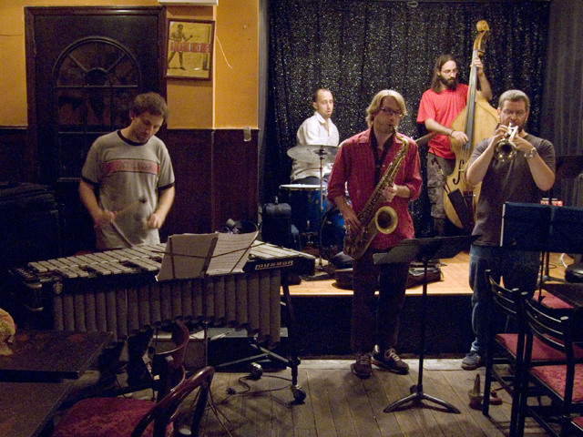 Harris Eisenstadt's Canada Day Quintet with Nate Wooley, Matt Bauder, Chris Dingman , Shanir Blumenkranz - Jimmy's 43 2007