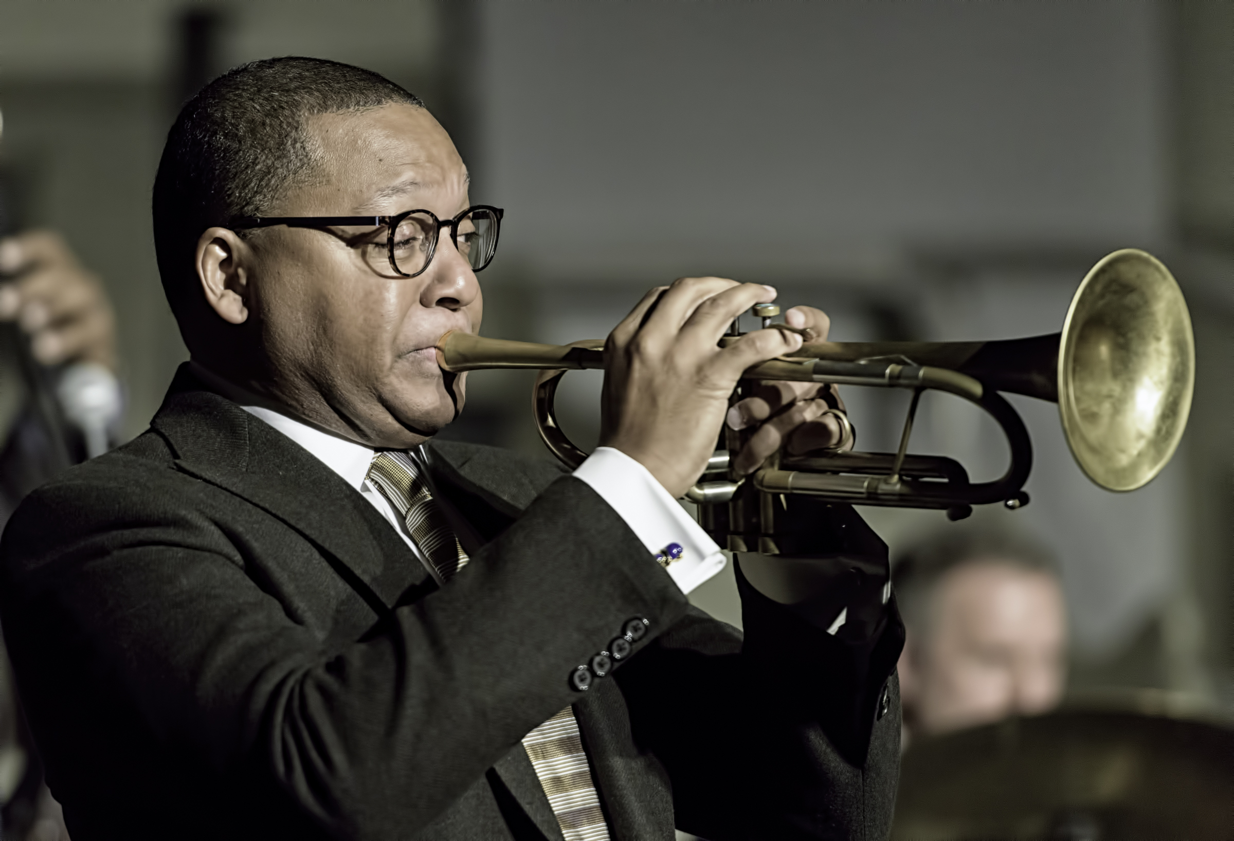 Wynton Marsalis at the Jazz Legends for Disability Pride at the NYC Winter Jazzfest 2016