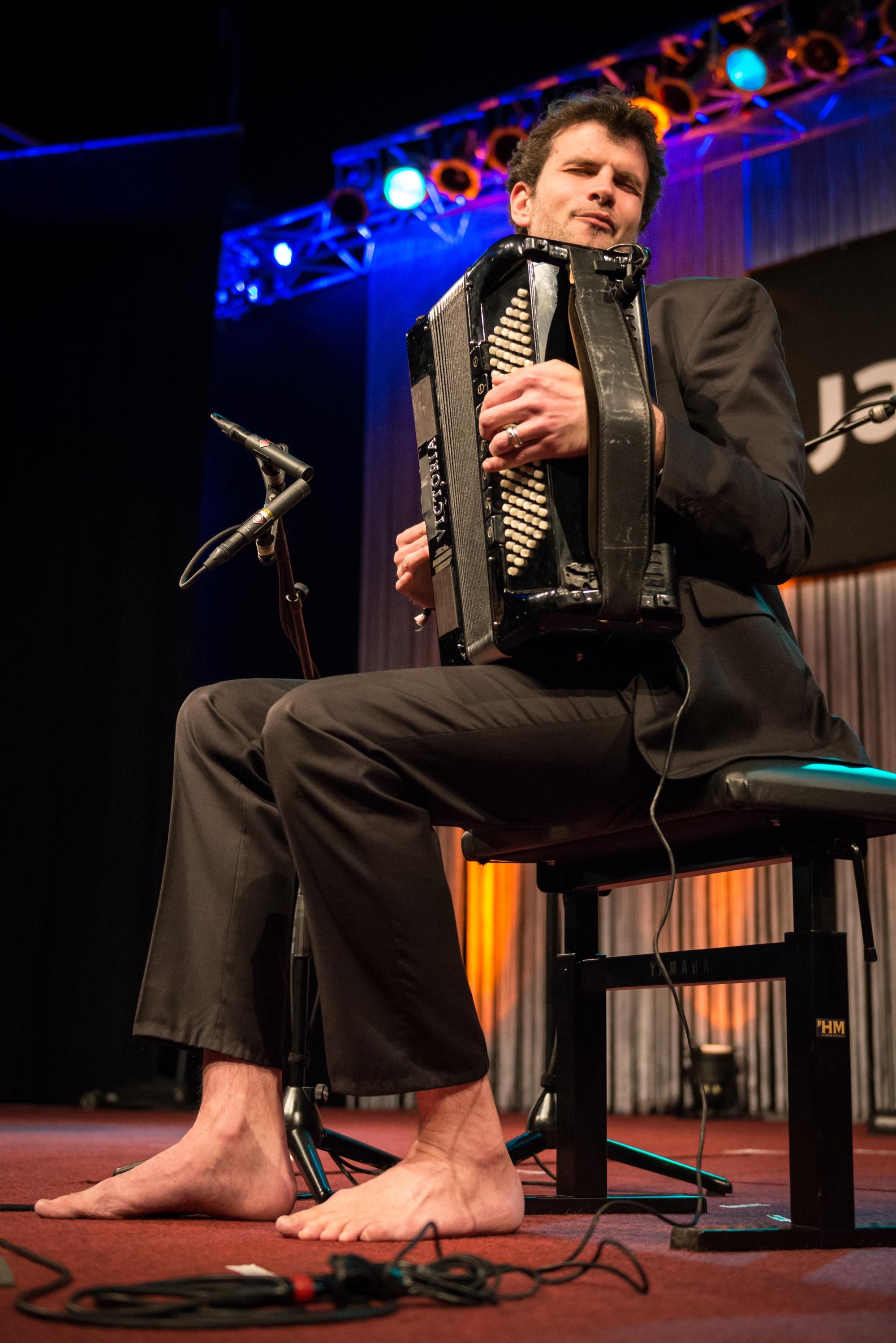 Jazzahead! 2015: Vincent Peirani